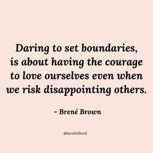 Brene Brown, boundaries quote